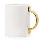 Mug With Gold Handle