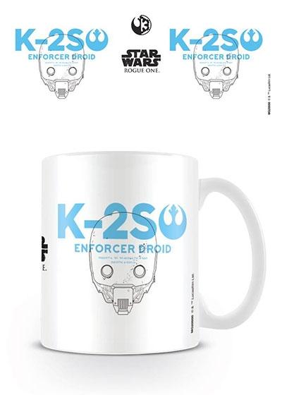 Šolja Star Wars Rogue One - K-2S0