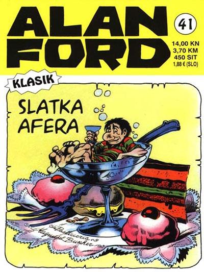 Alan Ford klasik 41: Slatka afera