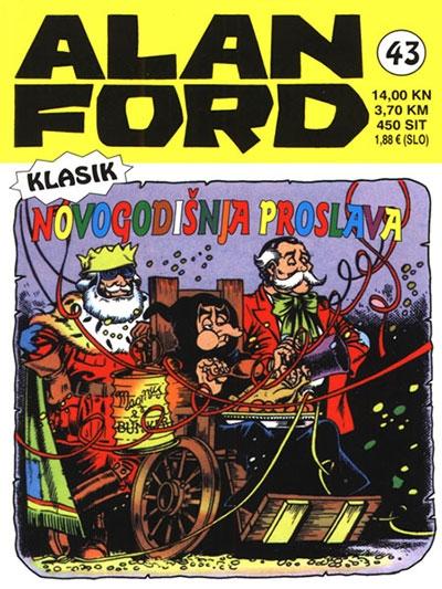 Alan Ford klasik 43: Novogodišnja proslava