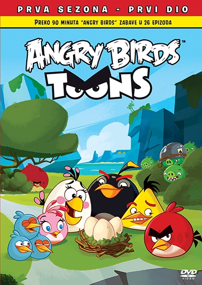 Angry Birds Toons s1 vol.1 dvd