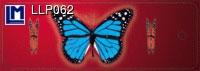 3D bukmarker - Butterflies