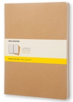 Agenda - Cahier Kraft Brown XXL - kvadratići