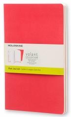 Agenda - Large Volant Geranium Red/Scarlet