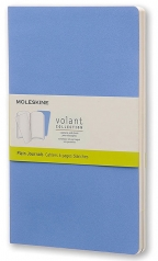 Agenda - Large Volant Powder Blue/Royal Blue