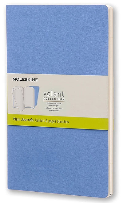 Agenda - Large Volant Powder Blue/Royal Blue