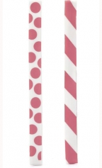 Rubberband Bookmarkers, Pink