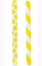 Rubberband Bookmarkers, Yellow