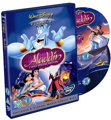 DVD, ALADDIN