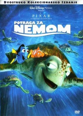 DVD, POTRAGA ZA NEMOM
