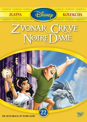 DVD, ZVONAR CRKVE NOTRE DAME