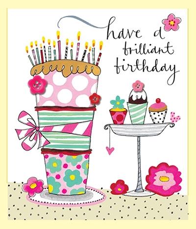 Čestitka Brilliant Birthday Cakes