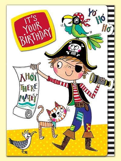 Čestitka Its your Birthday Pirate