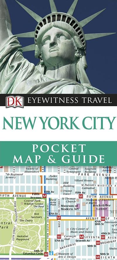 DK Eyewitness Pocket Map And Guide: Copenhagen DK