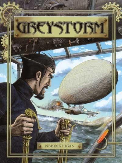 GREYSTORM 2 - NEBESKI DŽIN