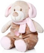 Plišana igračka-zvečka Perrito pink