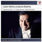 Zubin Mehta Conducts Brahms, 4CD