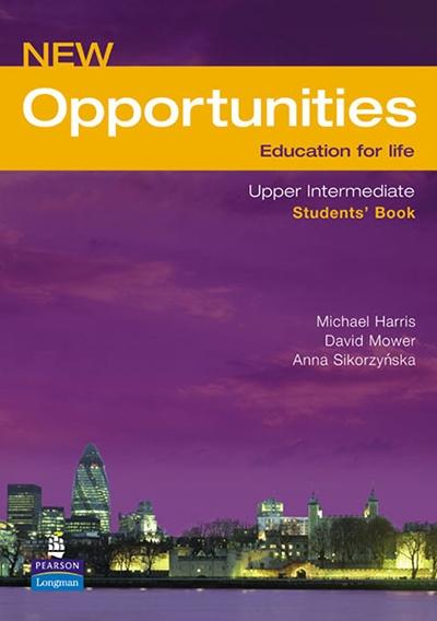 New Opportunities Upper-Intermediate, engleski jezik, udžbenik za 3. godinu srednje škole