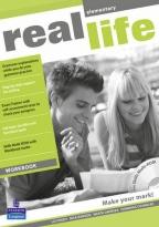 Real Life Elementary, engleski jezik, nastavni listovi za 1. godinu srednje škole