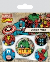 bedz set marvel retro hulk