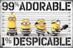 Poster Despicable me 99 Adorable 1 Despicable