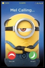 Poster Despicable me Mel Calling