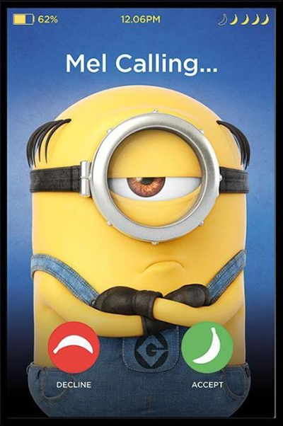 Poster Despicable me Mel Calling