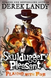 playing with fire skulduggery pleasant - book 2
