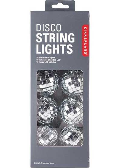 Disco string lights