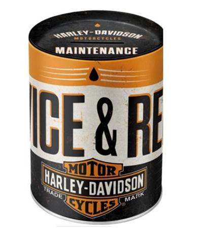 Kutija za novac - Piggy bank Harley Havidson service and repair