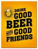 Metalni magnet - Drink good beer