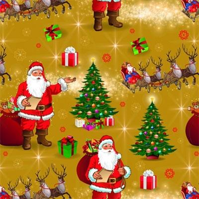 Novogodišnji Ukrasni papir - Christmas Tree