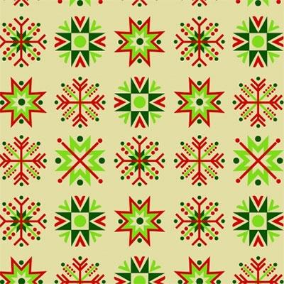 Novogodišnji Ukrasni papir - Snowflakes