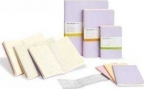 moleskine - cahier extra large trio pastel ruled