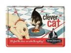 Razglednica - Clever cat