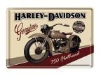 Razglednica - Harley davidson flathead