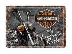 Razglednica - Harley davidson my favourite ride