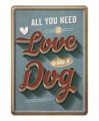 Razglednica - Love dog