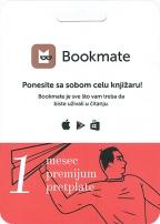 Bookmate pretplata - 1 mesec