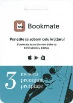 Bookmate pretplata - 3 meseca