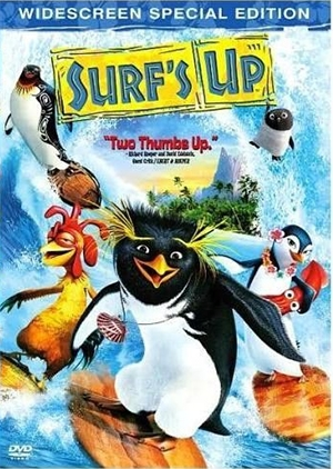 SURFS UP, DVD