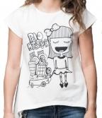 Ženska majica, Bela - Pao mi šećer, L