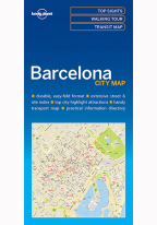 BARCELONA CITY MAP (TRAVEL GUIDE)