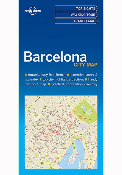 BARCELONA CITY MAP (TRAVEL GUIDE)