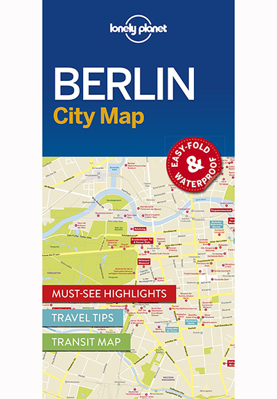 BERLIN CITY MAP (TRAVEL GUIDE)