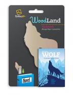 Bukmarker - Woodland Wolf