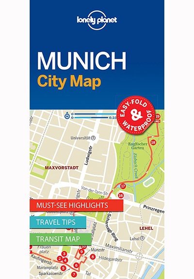 MUNICH CITY MAP (TRAVEL GUIDE)