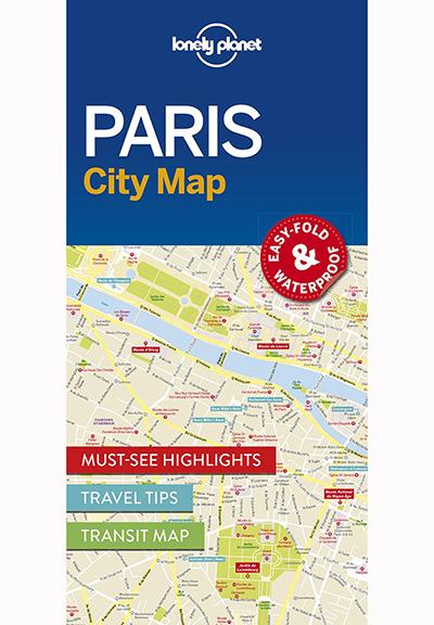 PARIS CITY MAP (TRAVEL GUIDE)