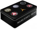 Nostalgic art kutija - Flat mercedes logo