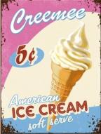Nostalgic art magnet - American ice cream